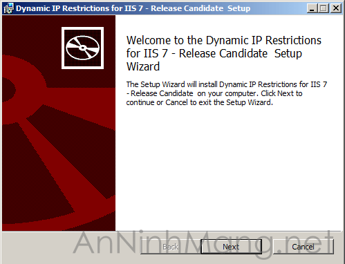 IP restriction setup