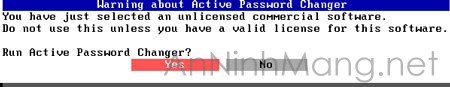 Question-run-active-password-change