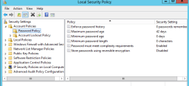 policy server 2012