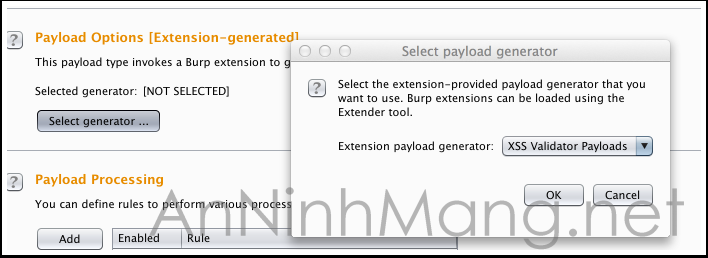 select-payload-generator